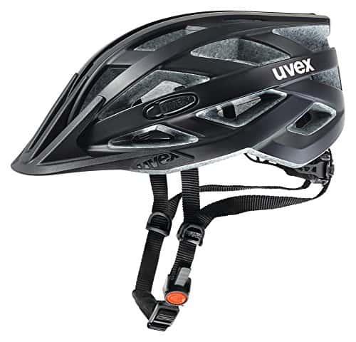 Uvex Erwachsene Fahrradhelm I-VO CC, Schwarz (Schwarz (Black Mat)), 56-60 cm
