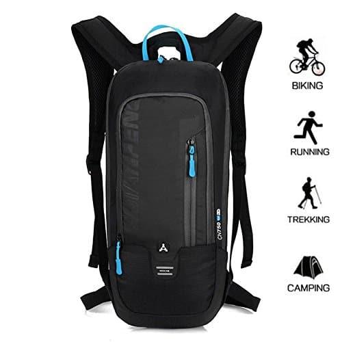 10L Kleiner Fahrradrucksack Trinkrucksack Wasserdicht Rucksäcke Reisetasche für Wandern, Klettern, Fahrradfahren, Fahrradrucksack, sowie Laufsport oder Camping Outdoor Sportrucksack Ultraleicht Fahrrad Rücksack von BLF
